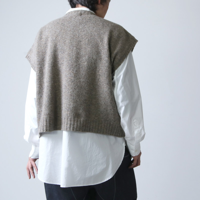 NOR'EASTERLY(ノア イースターリー) LOOSE VEST
