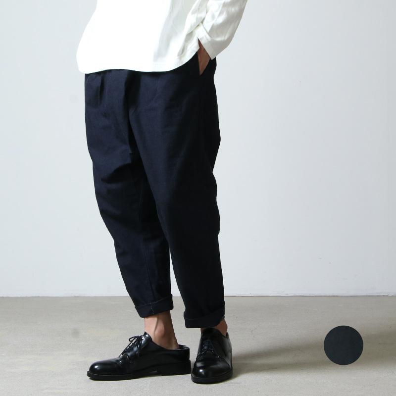 Ordinary Fits (オーディナリーフィッツ) TWIST PANTS denim / ツイストパンツ デニム