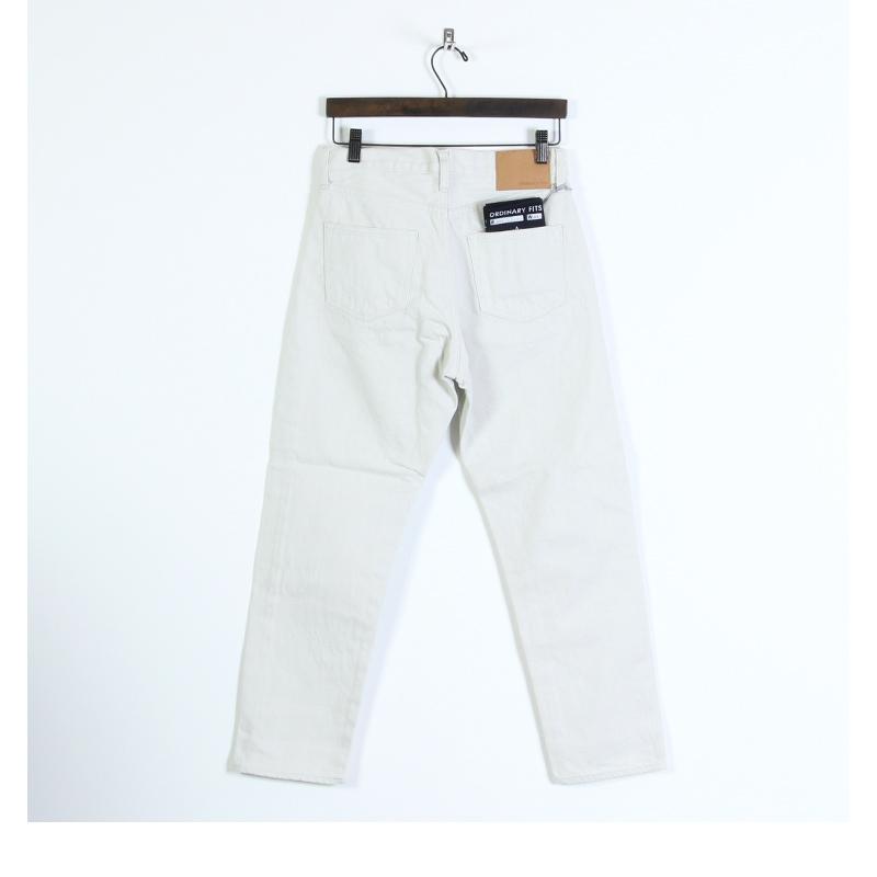 Ordinary Fits(オーディナリーフィッツ) 5POCKET ANKLE DENIM white one wash