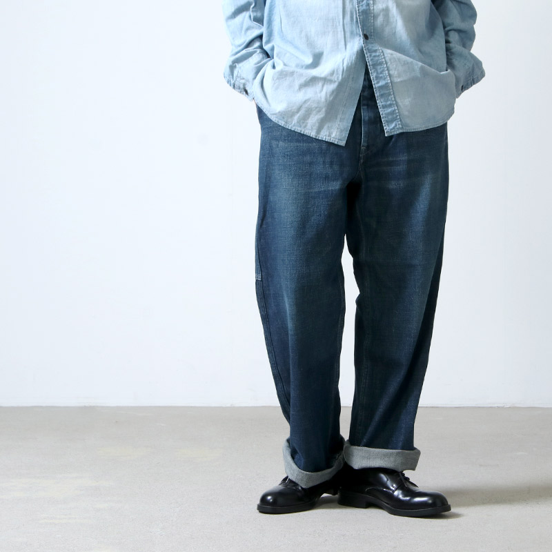 Ordinary Fits (オーディナリーフィッツ) Re:ORDINARY DENIM WORK PANTS 1year / リ オーディナリー デニムワークパンツ