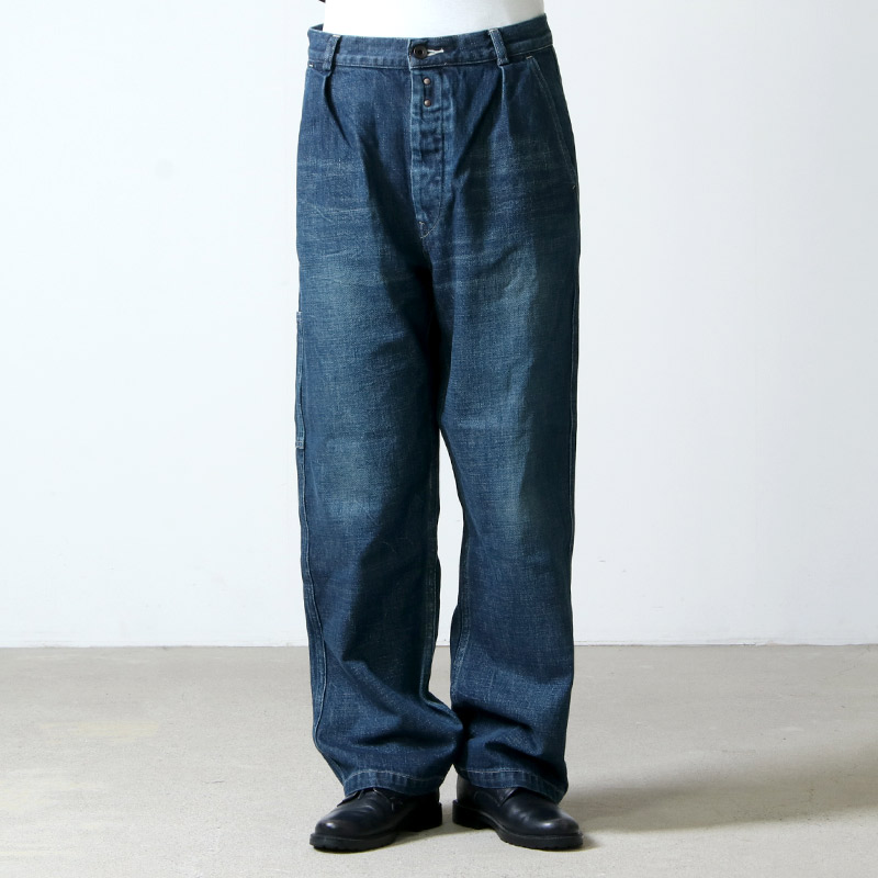 Ordinary Fits(オーディナリーフィッツ) Re:ORDINARY DENIM WORK PANTS 1year