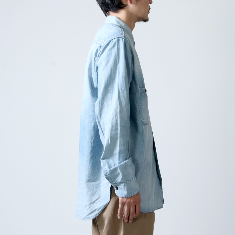 Ordinary Fits(オーディナリーフィッツ) Re:ORDINARY  CHAMBRAY WORK SHIRTS 1year