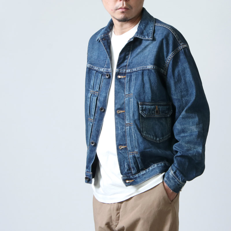 Ordinary Fits (オーディナリーフィッツ) Re:ORDINARY  DENIM JACKET  1year