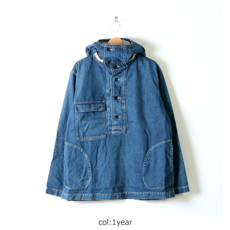 Ordinary Fits(オーディナリーフィッツ) Re:ORDINARY  DENIM ANORAK PARKA 1year