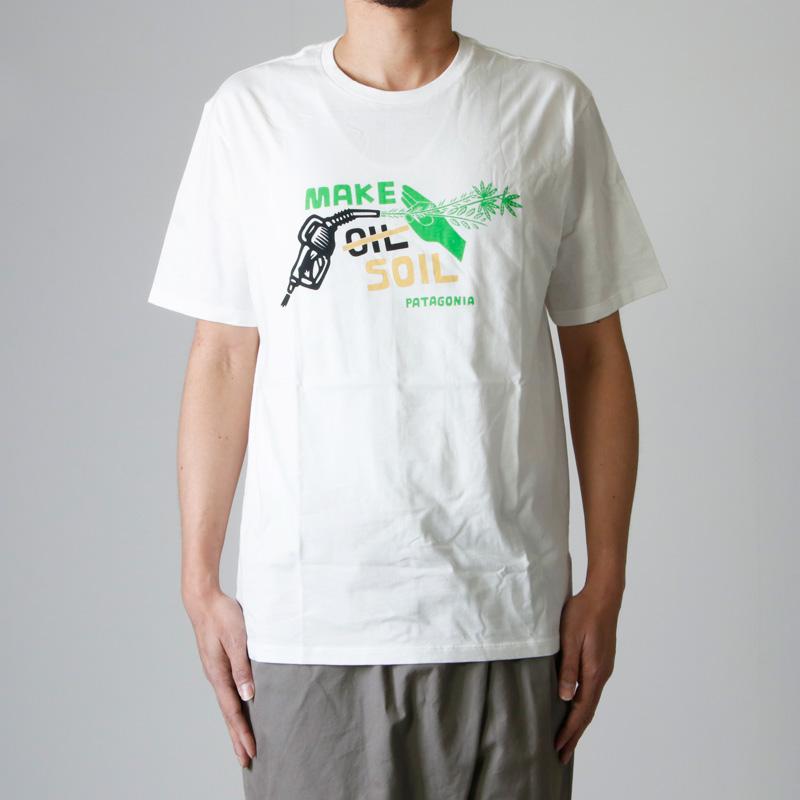 PATAGONIA(パタゴニアN) M's Make Soil Organic T-Shirt