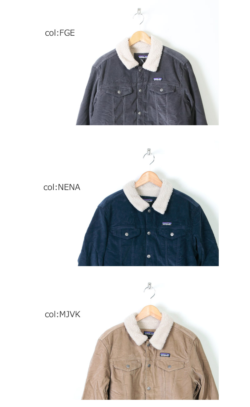 PATAGONIA(パタゴニアN) M's Pile Lined Trucker Jkt