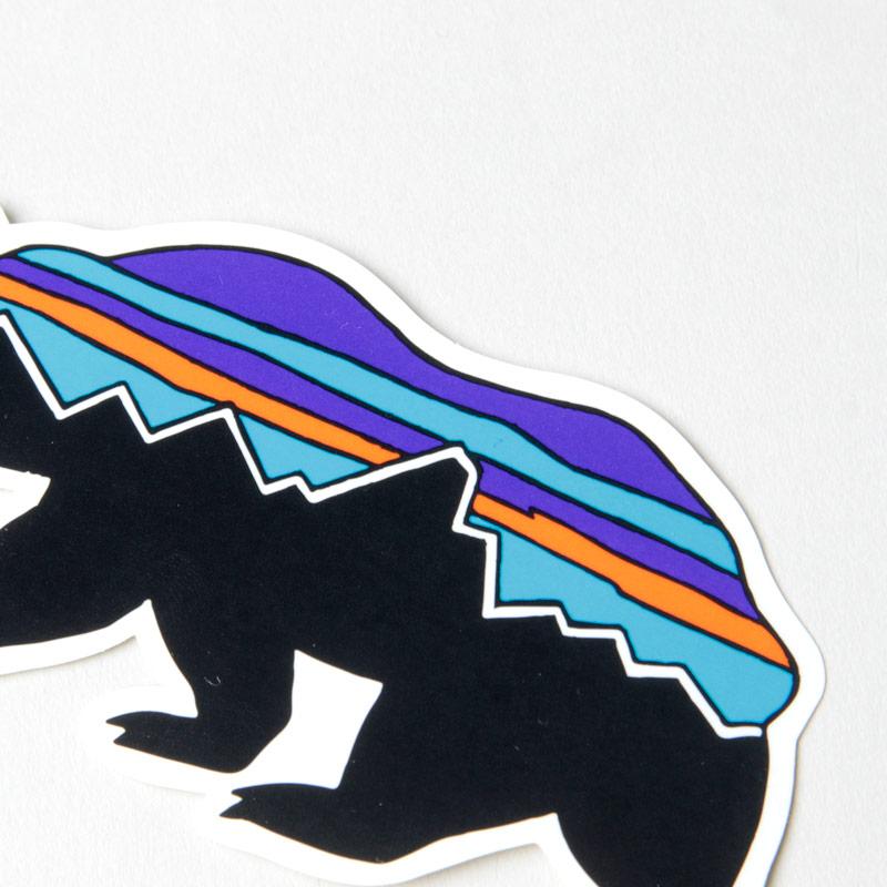 PATAGONIA(パタゴニア) Fitz Roy Bear Sticker