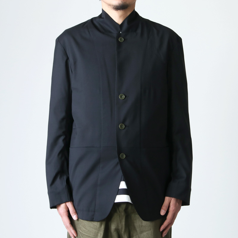 POLYPLOID(ポリプロイド) STAND COLLAR SUIT JACKET C
