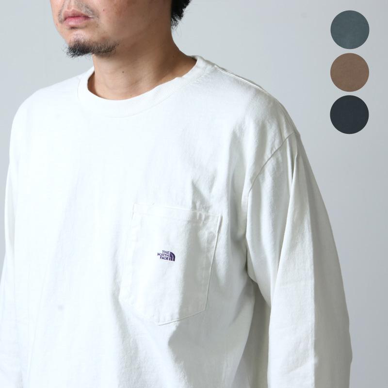THE NORTH FACE PURPLE LABEL (ザ ノースフェイス パープルレーベル) 7oz L/S Pocket Tee / ロングスリーブポケットTシャツ