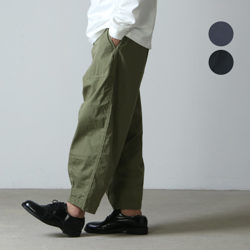 THE NORTH FACE PURPLE LABEL (ザ ノースフェイス パープルレーベル) Ripstop Wide Cropped Pants