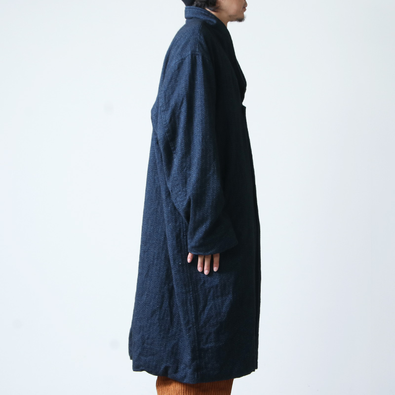 roundabout(ラウンダバウト) Oxford Notched Collar Coat