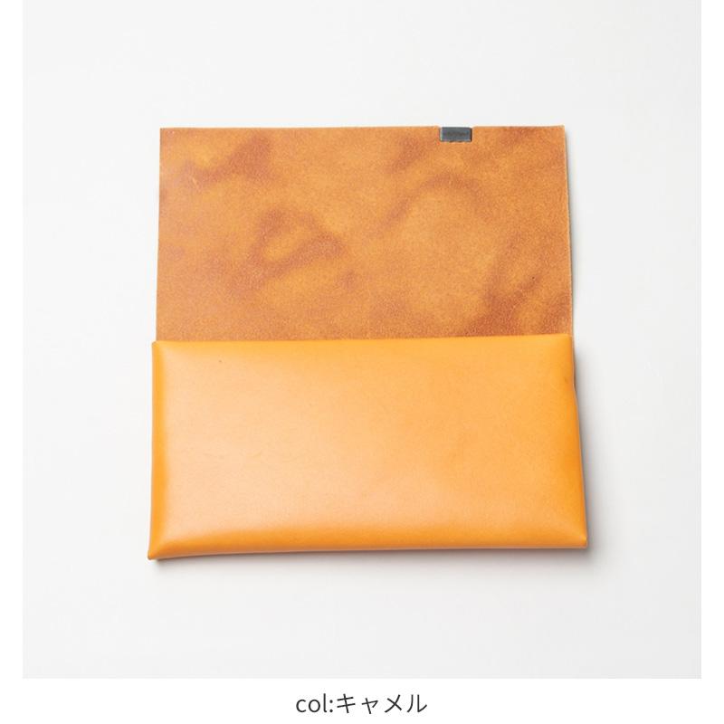 所作(ショサ) Long Wallet #Camel