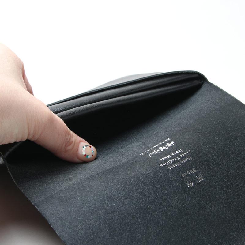 所作(ショサ) Long Wallet #Black