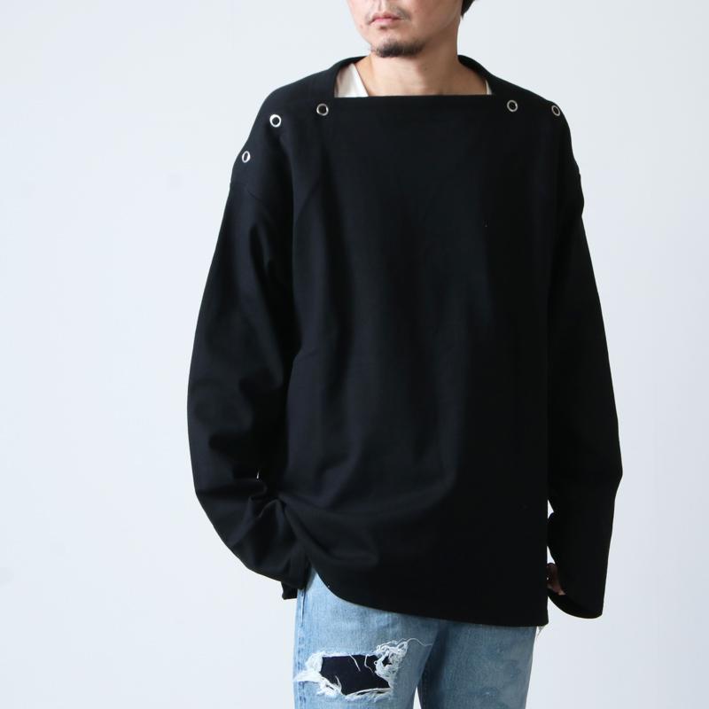 TAKAHIROMIYASHITATheSoloist. (タカヒロミヤシタザソロイスト) shoulder buttoned boat neck shirt