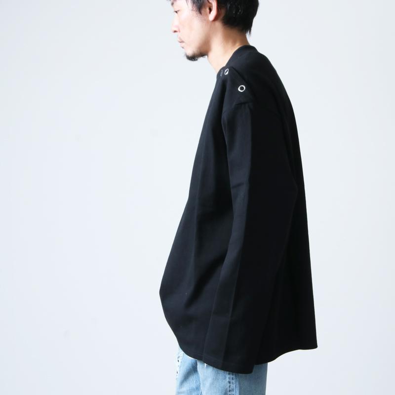 TAKAHIROMIYASHITATheSoloist.(タカヒロミヤシタザソロイスト) shoulder buttoned boat neck shirt