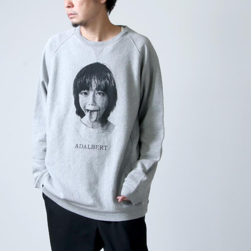 TAKAHIROMIYASHITATheSoloist. (タカヒロミヤシタザソロイスト) oversized crew neck sweatshirt ADALBERT