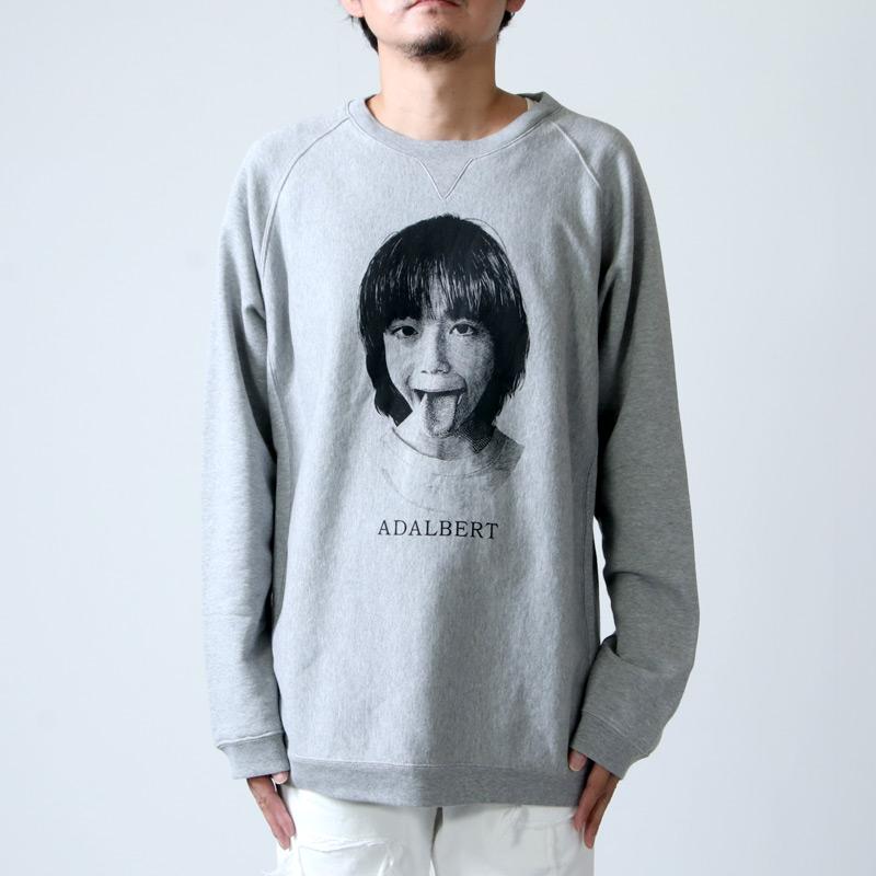 TAKAHIROMIYASHITATheSoloist.(タカヒロミヤシタザソロイスト) oversized crew neck sweatshirt ADALBERT