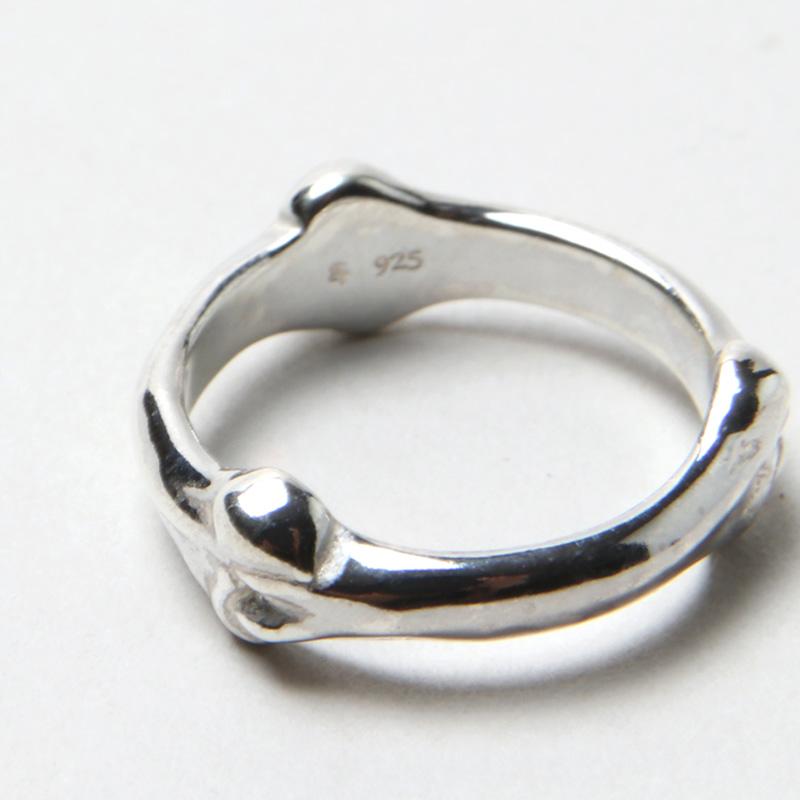 TAKAHIROMIYASHITATheSoloist.(タカヒロミヤシタザソロイスト) bone shaped band ring