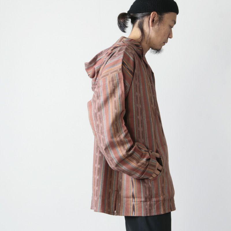 South2 West8(サウスツーウエストエイト) Mexican Parka - Cotton Cloth / Ikat Pattern