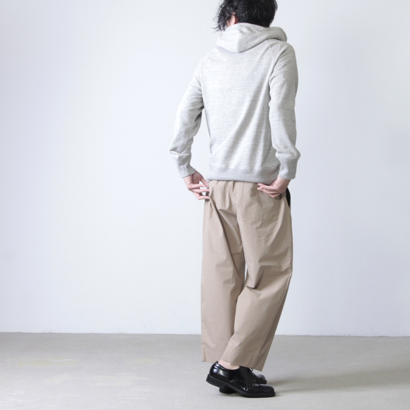 STUDIO NICHOLSON(スタジオニコルソン) CURVED EASY PANTS ASSAI