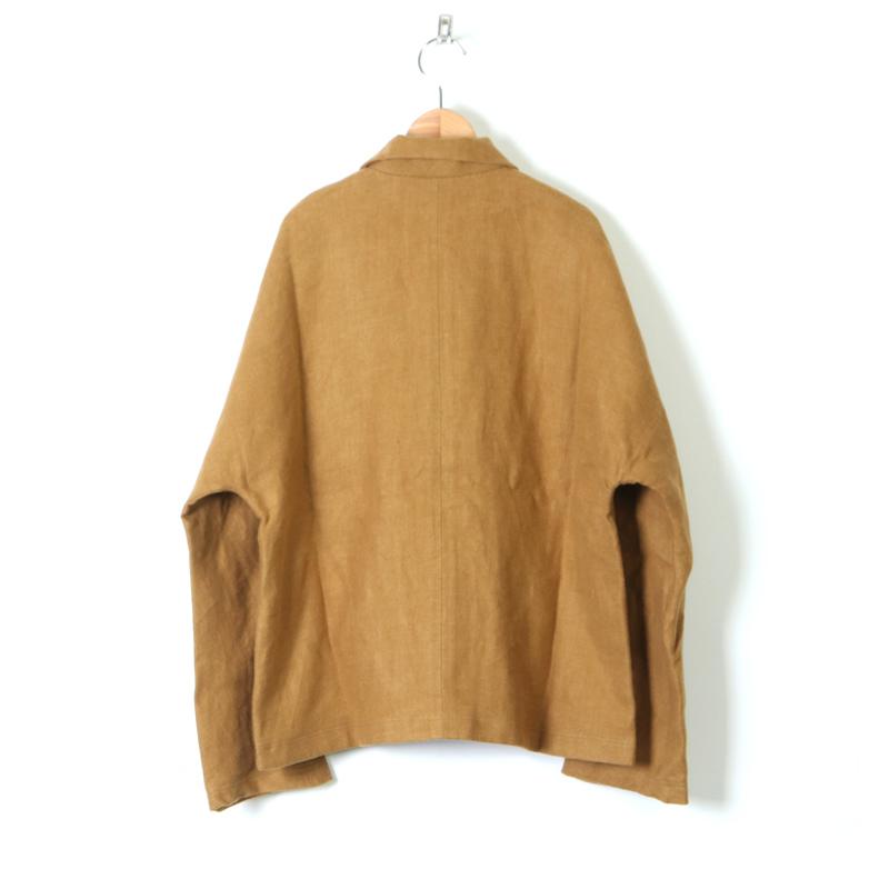 style + confort(スティールエコンフォール) リネン起毛 ドルマンジャケット