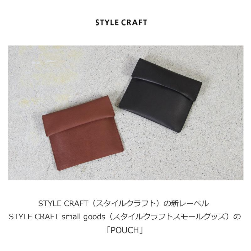 STYLE CRAFT(スタイルクラフト) Small Goods ゴート×ヌメ ポーチ