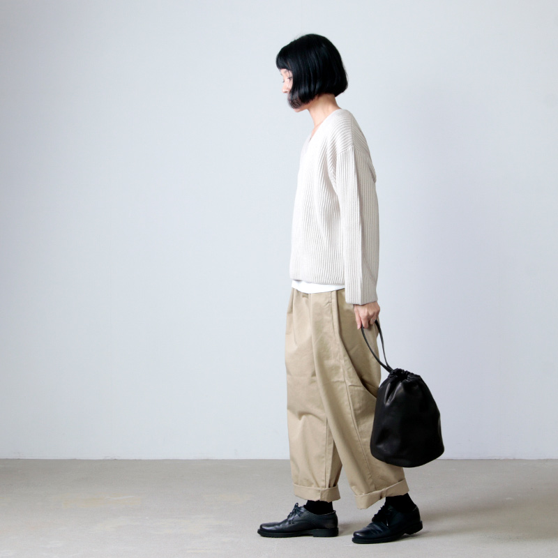 STYLE CRAFT(スタイルクラフト) ゴートドロップ巾着バッグ L