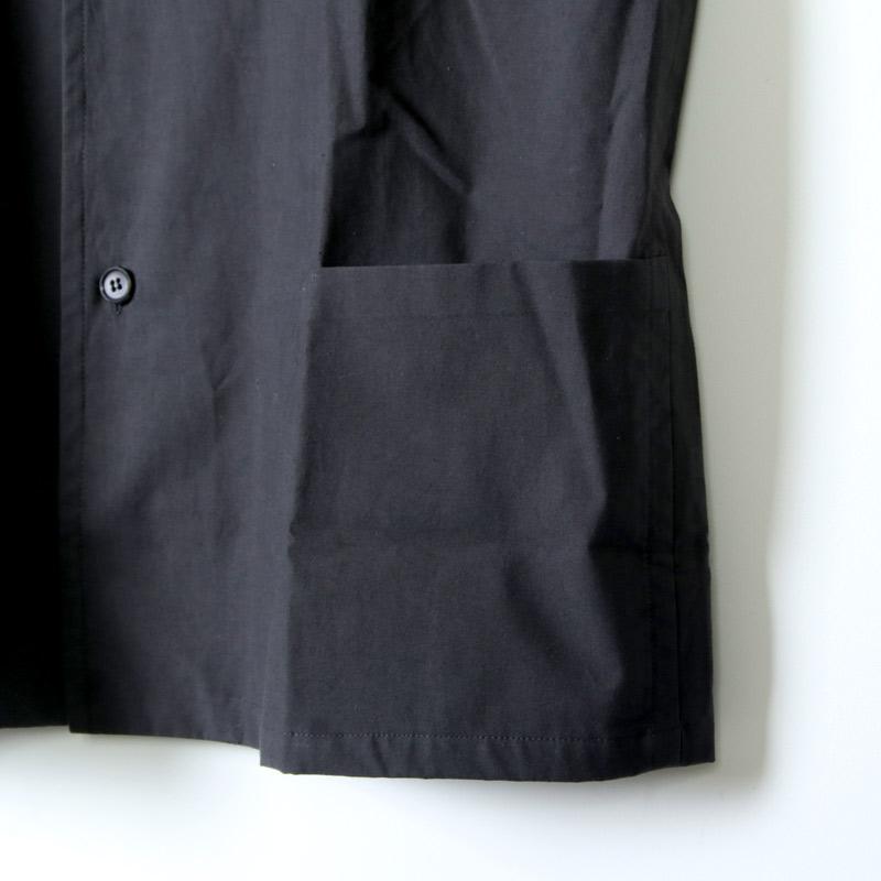 THE HINOKI(ザ ヒノキ) コットンネップパラシュートクロス スタンドアップカラーシャツ