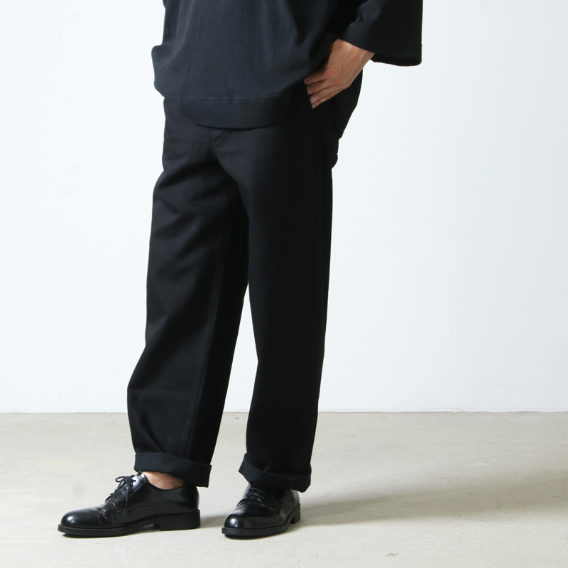 THE HINOKI (ザ ヒノキ) OG Cotton Black Denim Pants / オーガニックコットンブラックデニムパンツ