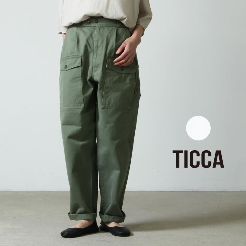 TICCA (ティッカ) カーゴワイドパンツ