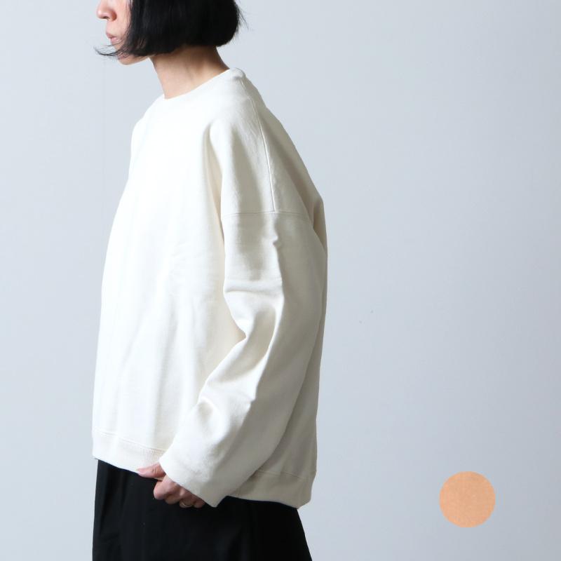 unfil (アンフィル) cotton & paper terry sweatshirt / コットンアンドペーパーテリースウェットシャツ