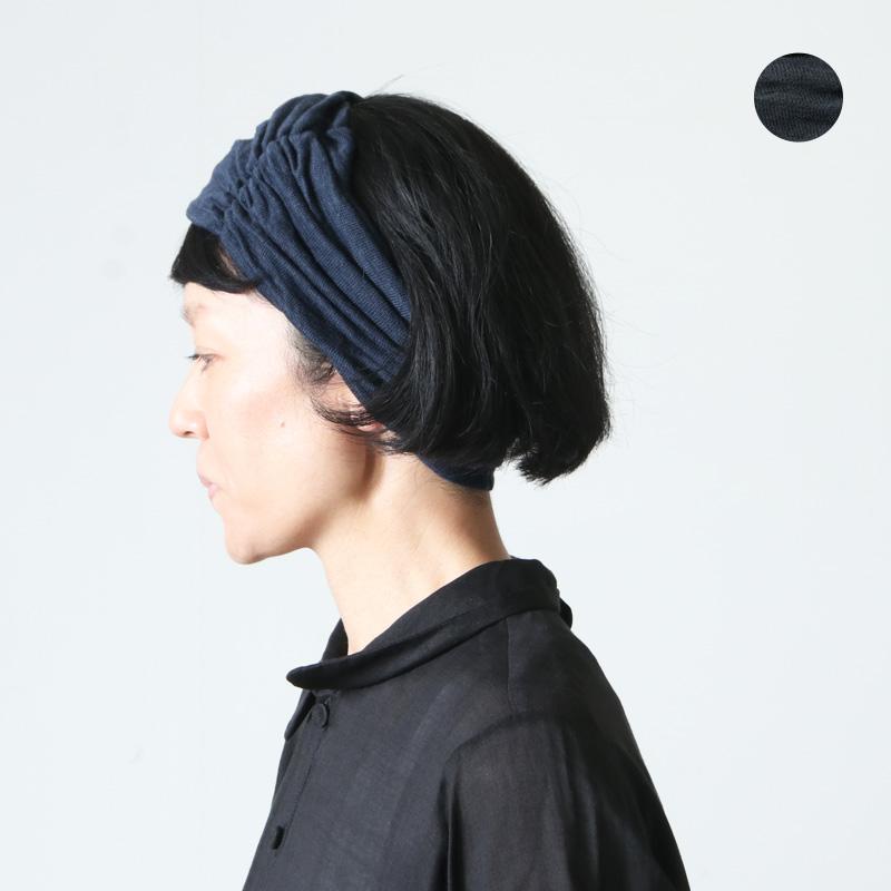 Vlas blomme (ヴラスブラム) ギャザーヘアバンド