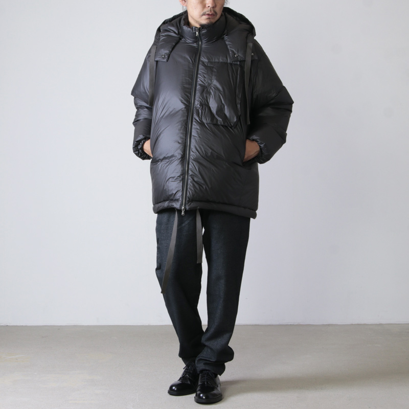 WELLDER(ウェルダー) Extended Down Jacket Inside Down & Feather