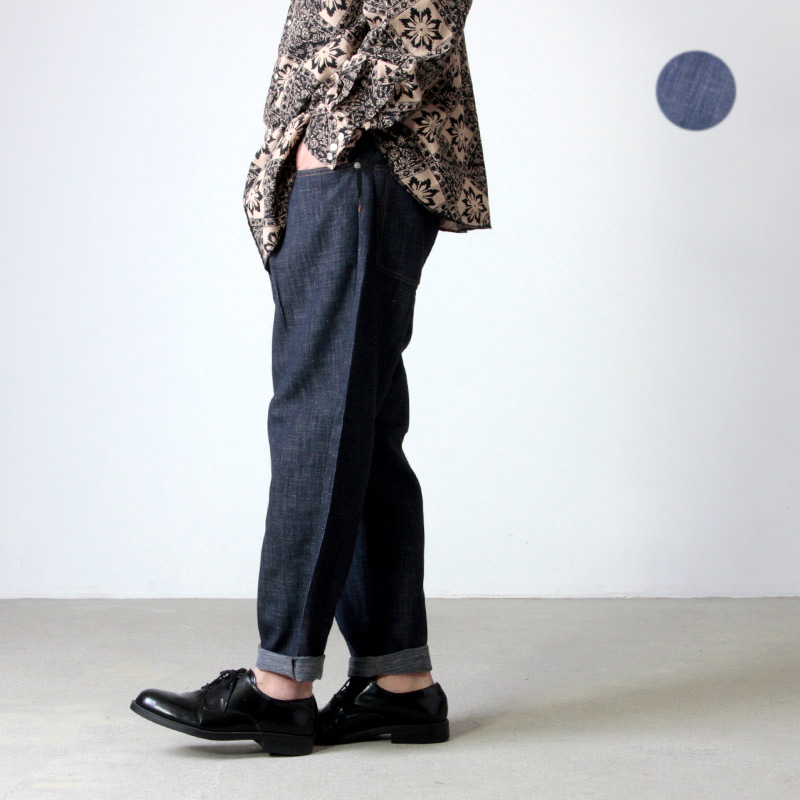 WELLDER (ウェルダー) Single Reversed & Five-Pockets Tapered Trousers