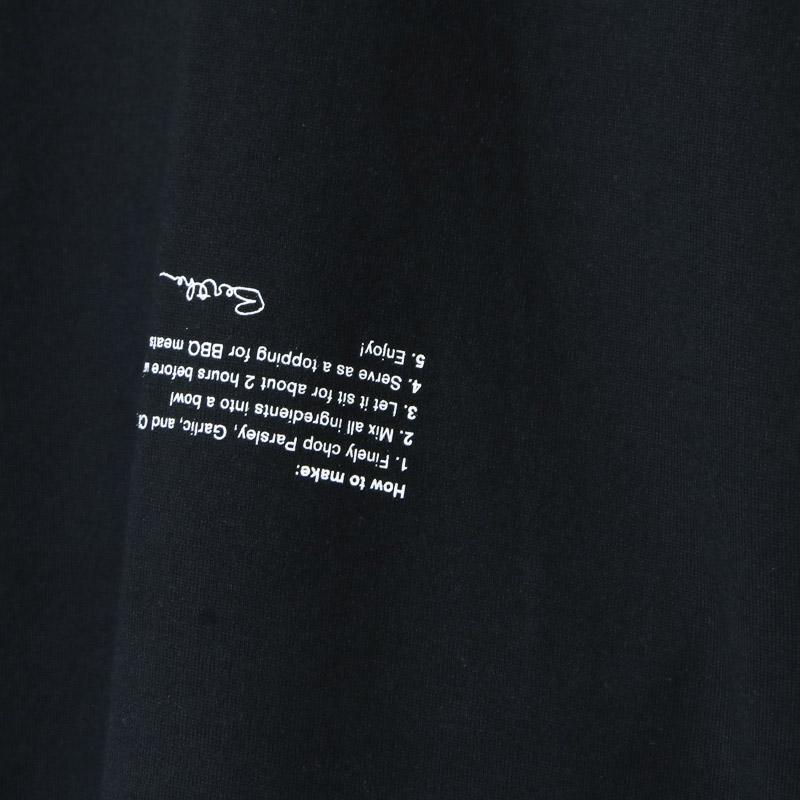 WELLDER(ウェルダー) Crew Neck T-Shirt CHIMI CHURRI