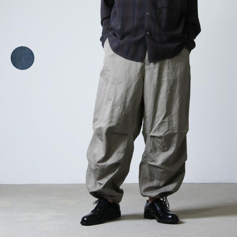WELLDER (ウェルダー) Wide Over Trousers / ワイドオーバートラウザース
