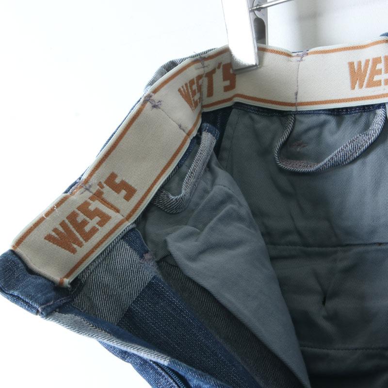 WESTOVERALLS(ウエストオーバーオールズ) GOOD FIT TROUSERS DENIM