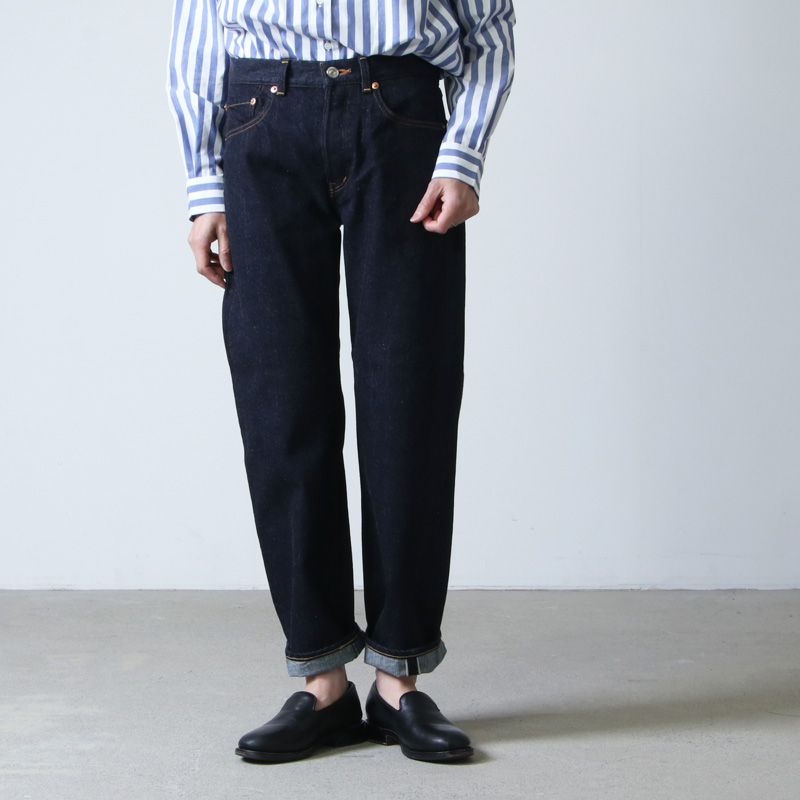 YAECA (ヤエカ) DENIM PANTS STRAIGHT 13oz / デニムパンツストレート
