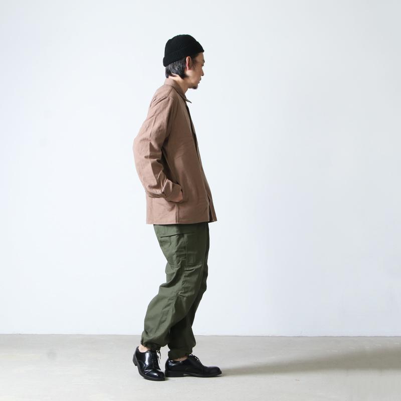 YAECA(ヤエカ) COMFORT SHIRT RELAX SQUARE