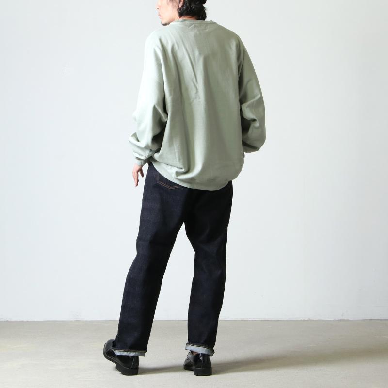 YAECA(ヤエカ) 13-14W DENIM PANTS WIDE STRAIGHT