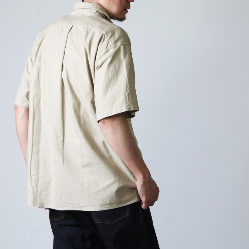 YAECA(ヤエカ) COMFORT SHIRT WIDE SQUARE SS
