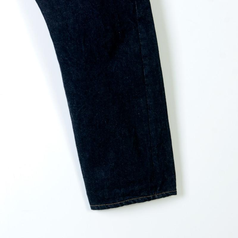 YAECA(ヤエカ) 10-14W DENIM PANTS WIDE TAPERED
