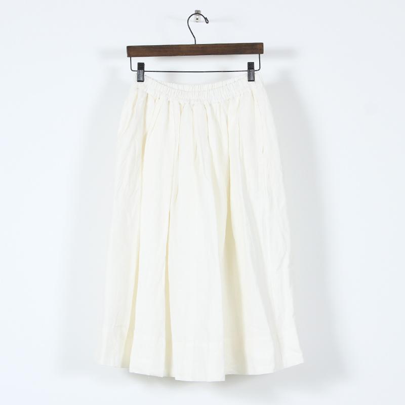 ina(イナ) リネンウエストギャザースカート