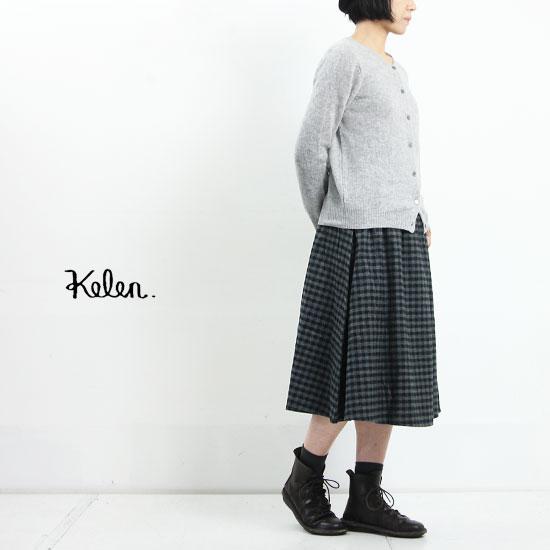 kelen (ケレン) Flared Mimolet Skirt Elsy
