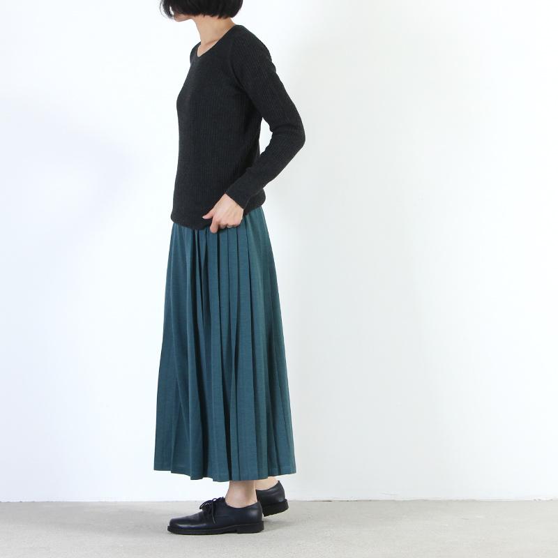 mao made(マオメイド) ワッフルコットンニットプルオーバー