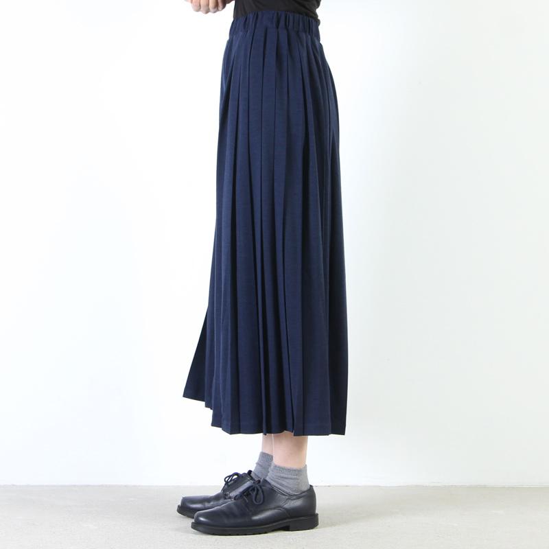 MidiUmi(ミディウミ) プリーツワイドパンツ