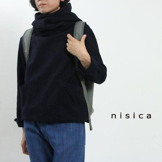 nisica(ニシカ) cotyle別注 ウールスモッグパーカー