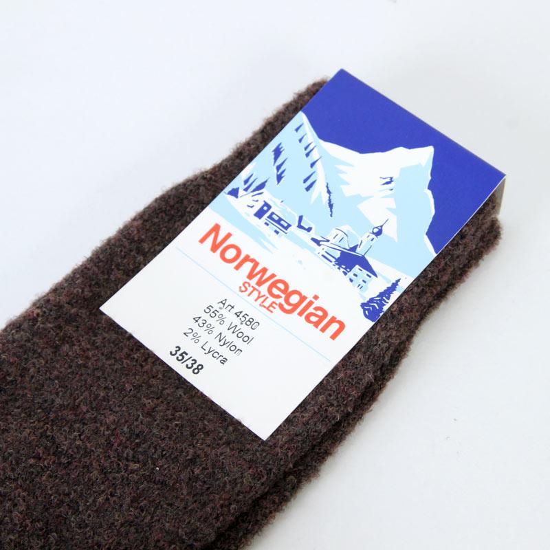 Norwegian Style(ノルウェイジャンスタイル) Solid Sox
