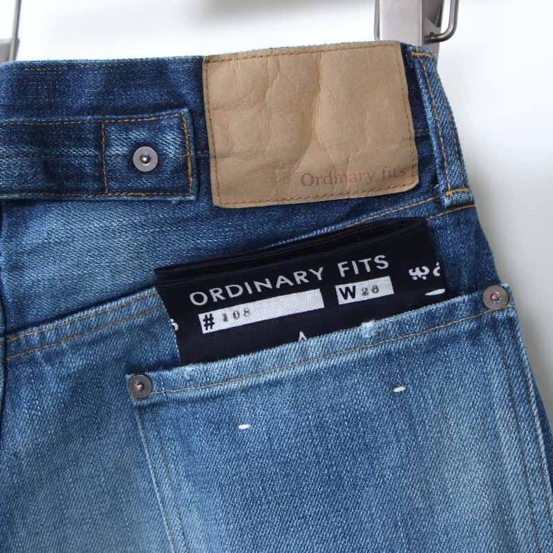 Ordinary Fits(オーディナリーフィッツ) FARMERS 5POCKET DENIM used