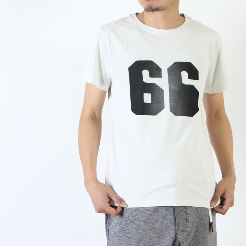REMI RELIEF(レミレリーフ) スペシャル加工Tee 『66』